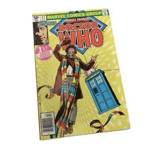 Dr. Who Marvel Premiere #57 1980 First US Comic Book Appearance - Good Cond.